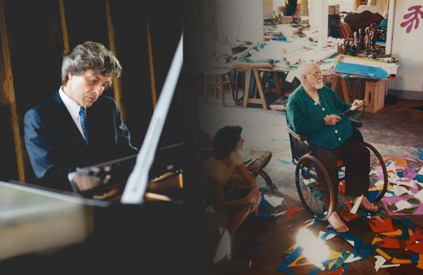 Left: Christopher Bakriges,  by Emmy Walden Fox Photography;  Right: Photo of Matisse (Succession H. Matisse / Artists Rights Society (ARS), New York)